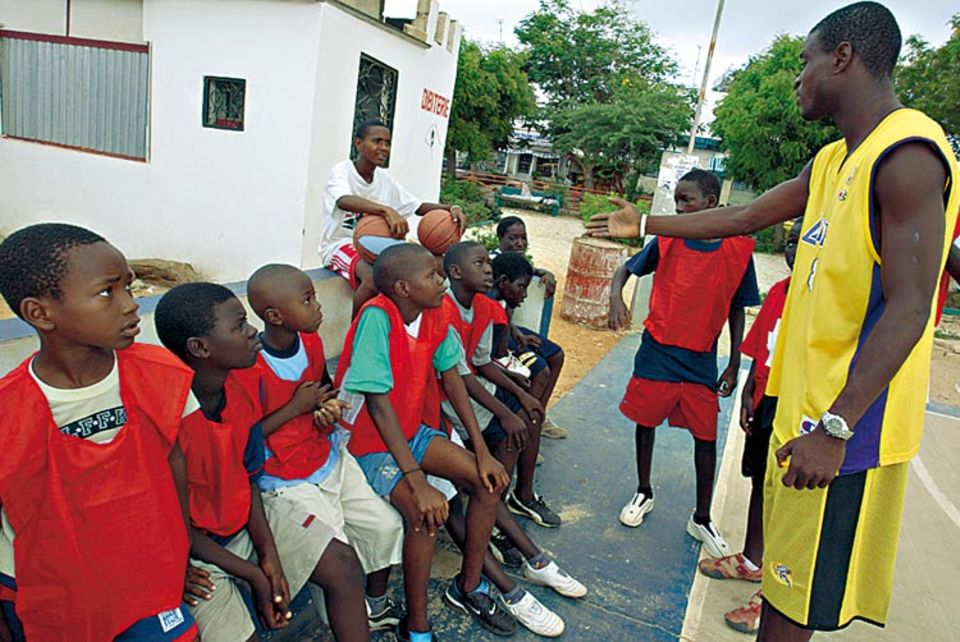 Trainer Djibril Ba hat als Spieler fünfmal den senegalesischen Meistertitel gewonnen.