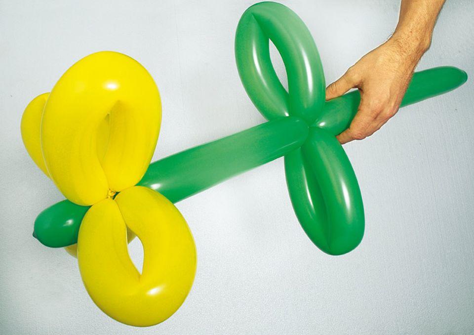 Bastelanleitungen: Kunst aus Luftballons
