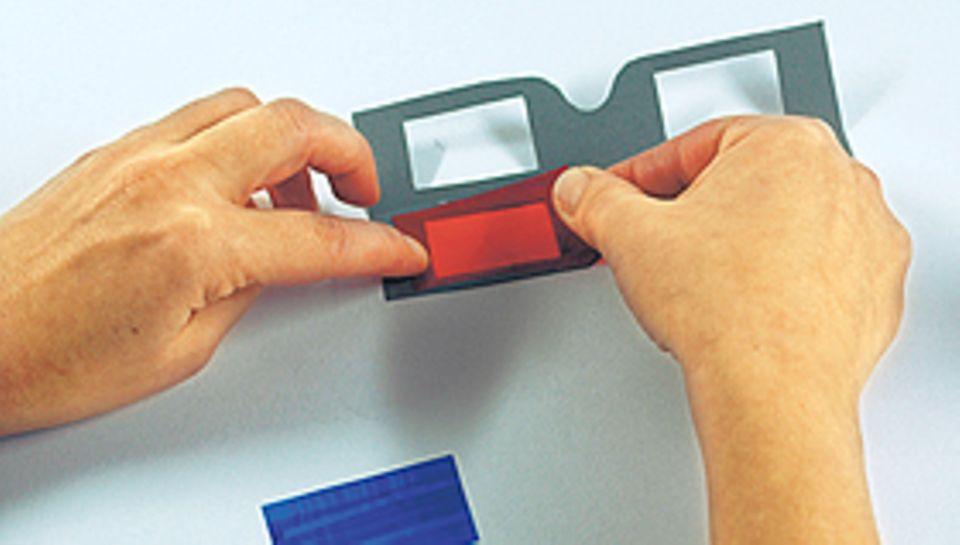 DIY: 3D Brille basteln