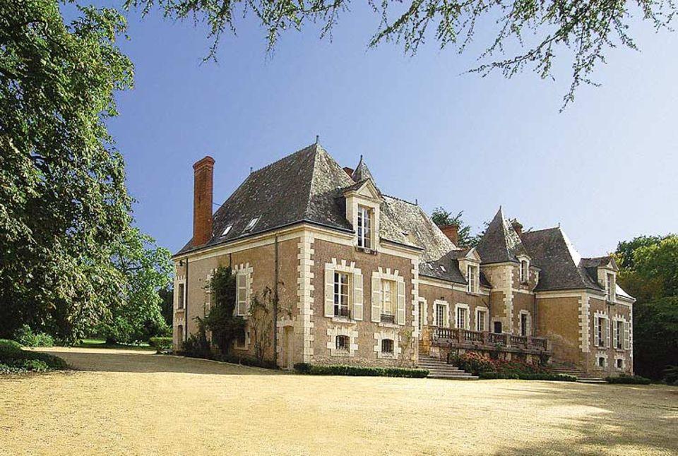 Die Parfümwerkstatt: Das Chateau de Frileuse, ein Loire-Schlösschen aus dem 19. Jahrhundert, liegt in einem 30 Hektar großen Park