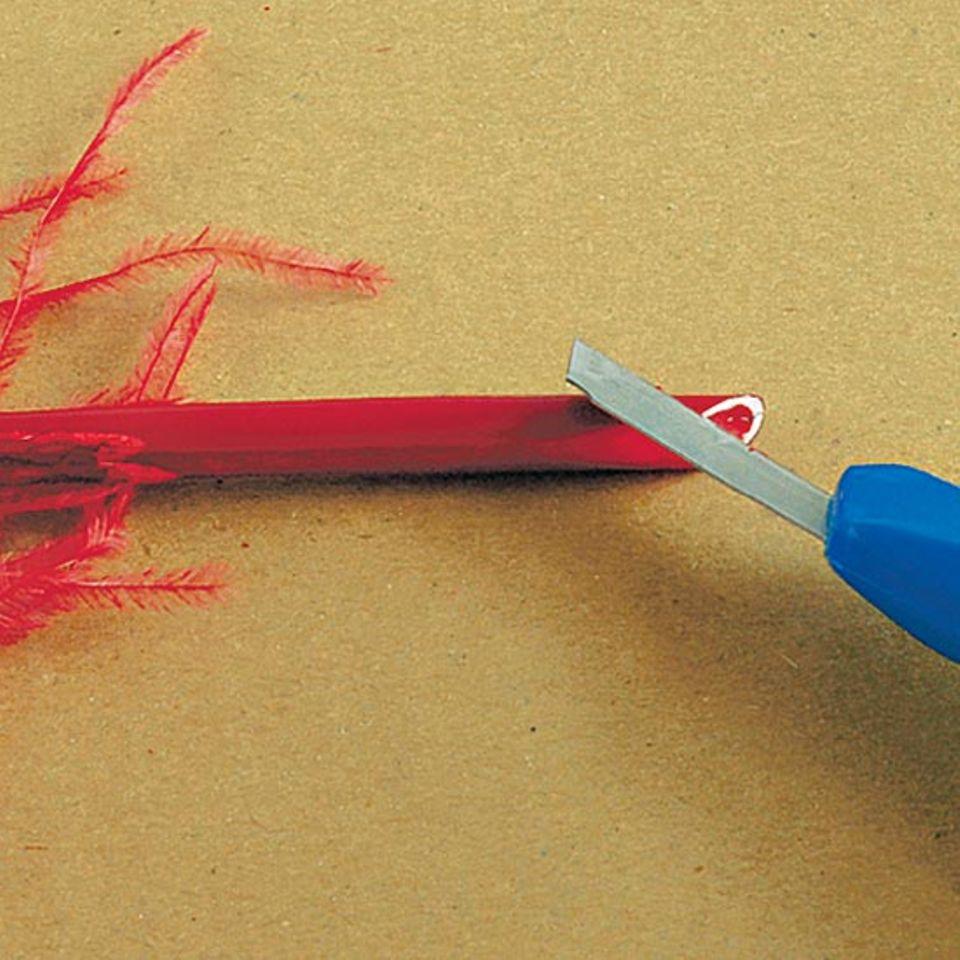 Basteltipp: Schreibfeder