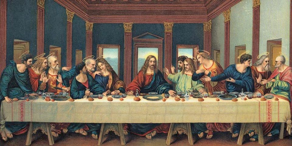 Weltreligionen: Das letzte Abendmahl hat viele Künstler inspiriert, hier: Leonardo di Vinci
