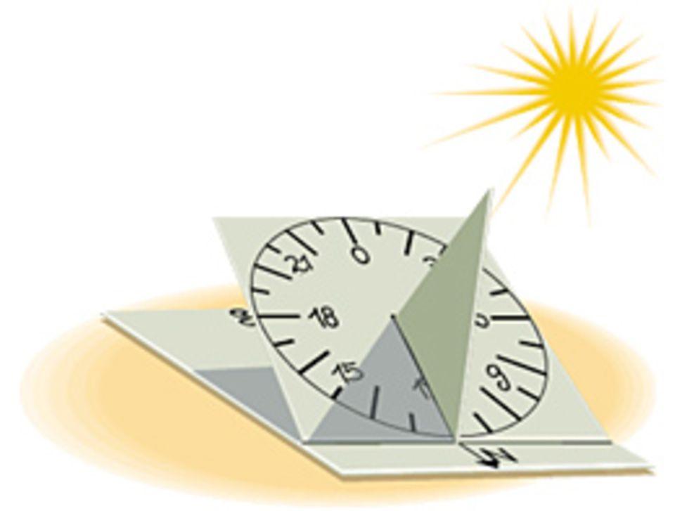 DIY: Sonnenuhr zum Selberbauen