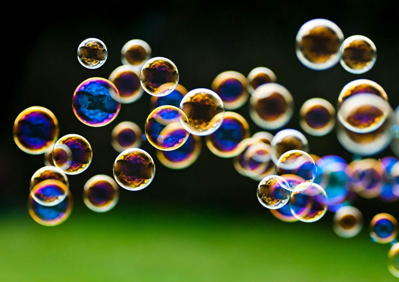 Basteltipp: Selbstgemachte Seifenblasen