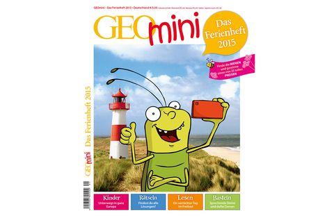 GEOmini: GEOmini Ferienheft 2015