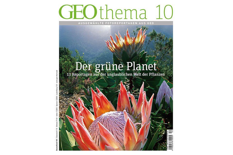 GEO THEMA Nr. 10: GEO THEMA Nr. 10 - GEOthema: Der grüne Planet