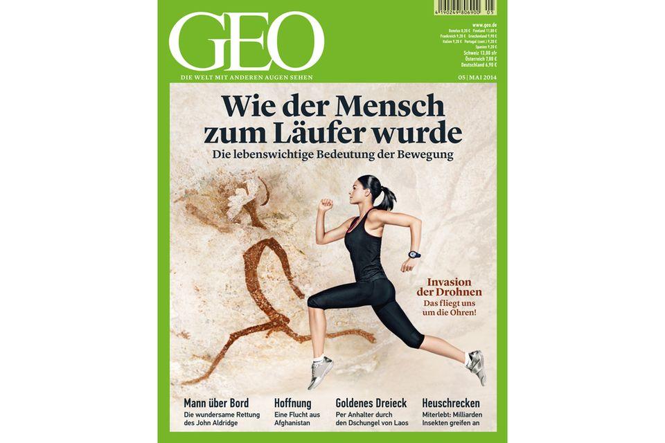 GEO Nr. 05/14: GEO Nr. 05/14 - Wie der Mensch zum Läufer wurde