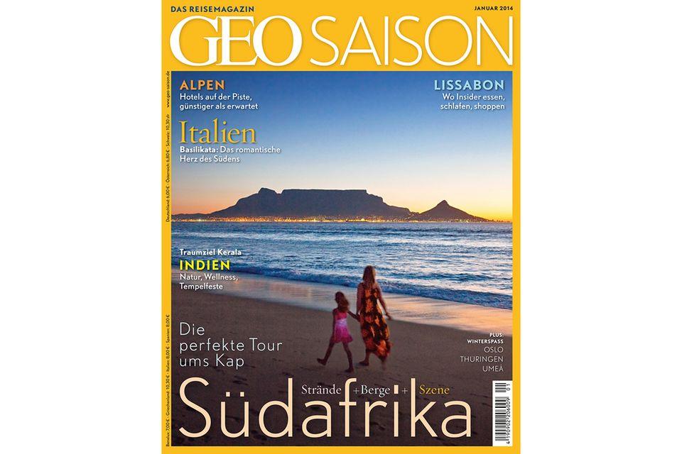 GEO SAISON Nr. 14/01: GEO SAISON Nr. 14/01 - Südafrika: Die perfekte Tour ums Kap