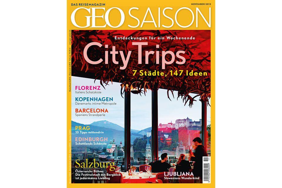 GEO SAISON Nr. 11/13: GEO SAISON Nr. 11/13 - City Trips: 7 Städte, 147 Ideen
