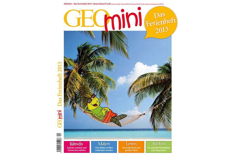 GEOmini: GEOmini Ferienheft 2013