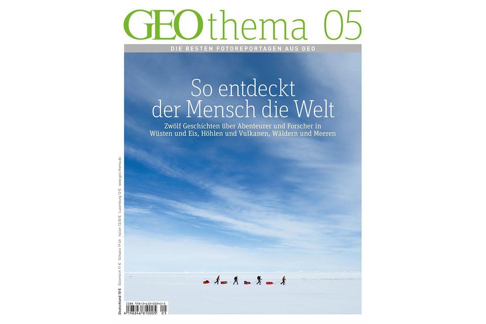 GEO THEMA Nr. 02/13: GEO THEMA Nr. 02/13 - So entdeckt der Mensch