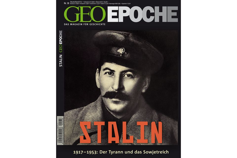 GEO EPOCHE Nr. 38 - 08/09: GEO EPOCHE Nr. 38: Stalin