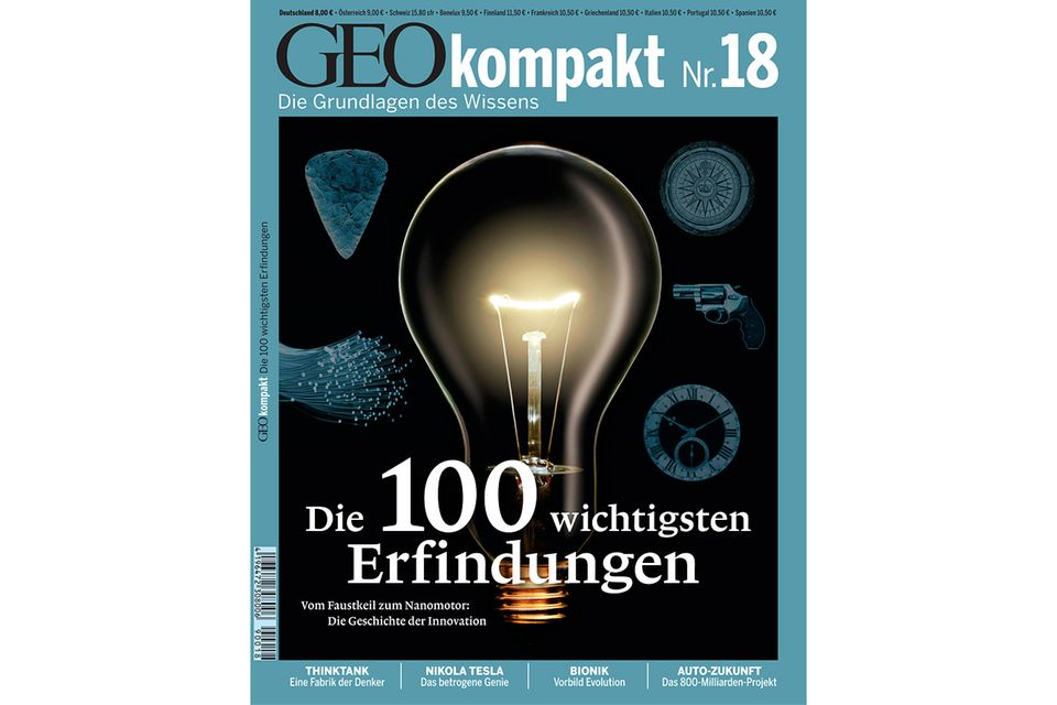 GEO KOMPAKT Nr. 18 - 03/09: GEO KOMPAKT Nr. 18 - 03/09 - Die 100 wichtigsten Erfindungen