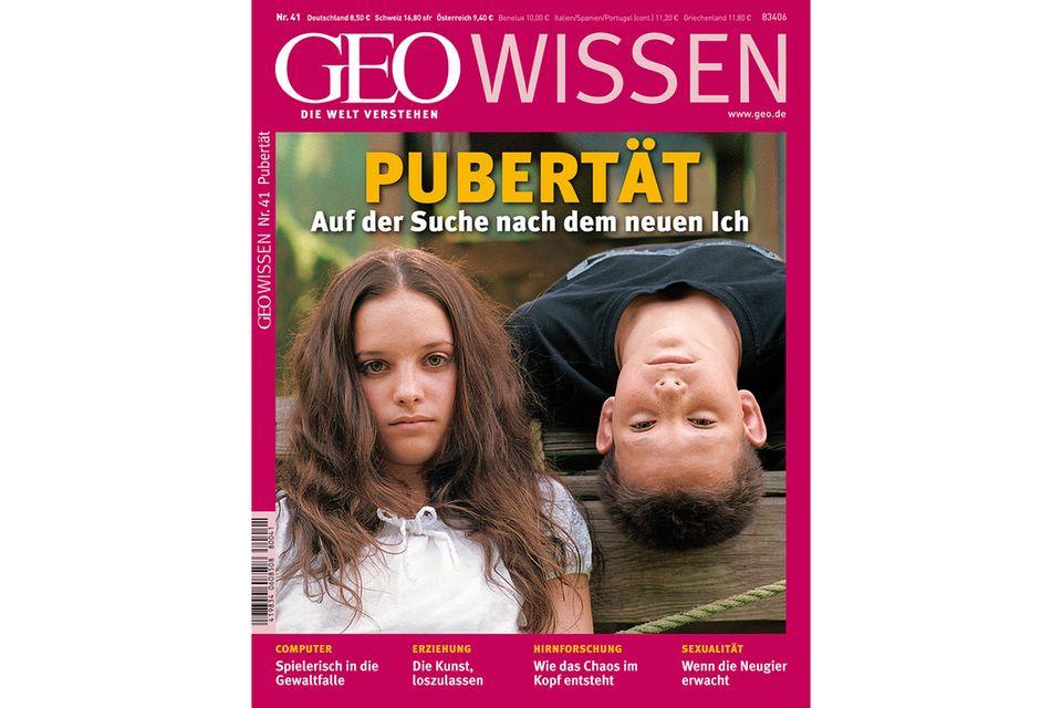 GEO WISSEN Nr. 41 - 05/08: GEO WISSEN Nr. 41 - 05/08 - Pubertät