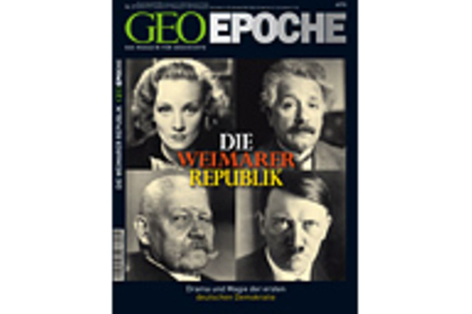 GEO EPOCHE Nr. 27 - 08/07: GEO EPOCHE Nr. 27 - 08/07 - Die Weimarer Republik