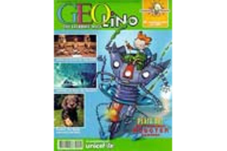 GEOLINO Nr. 01/00: GEOLINO Nr. 01/00 - Platz da! Die rasenden Roboter kommen