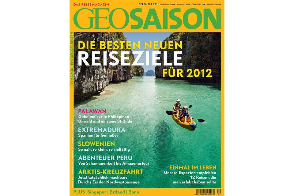 GEO SAISON Nr. 12/2011: GEO SAISON Nr. 12/2011 - Die besten neuen Reiseziele für 2012