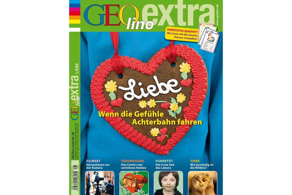 GEOLINO EXTRA Nr. 28/11: GEOLINO EXTRA Nr. 28/11 - Liebe: Wenn die Gefühle Achterbahn fahren