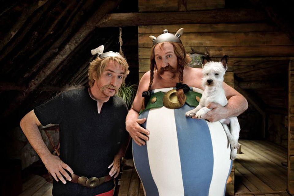 Asterix und Obelix stürzen sich wieder in ein neues Abenteuer
