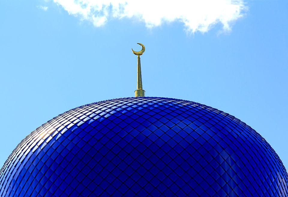 Weltreligionen: Der Halbmond, genannt Hikal, gilt als Symbol des Islam