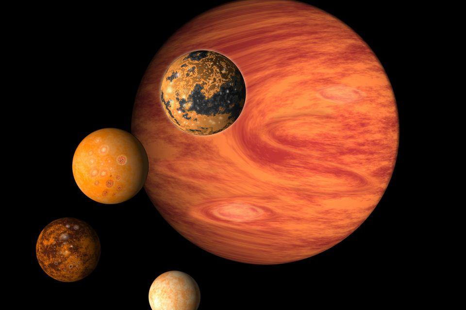 Planeten, Weltraum, Weltall, All, Astronomie