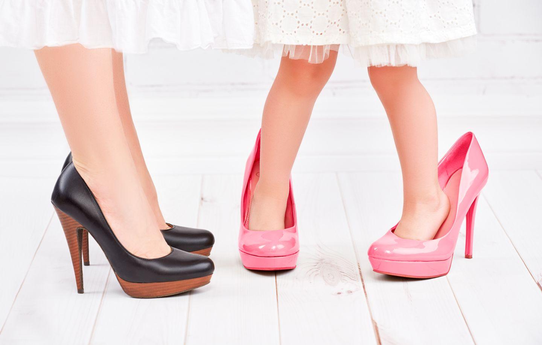 Schuhe, Füsse, falscher Fuss