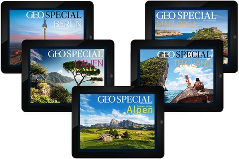 GEO SPECIAL App Archiv