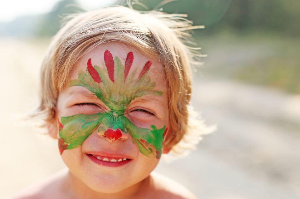 Verkleiden: Kinderschminken: Vorlagen und Motive