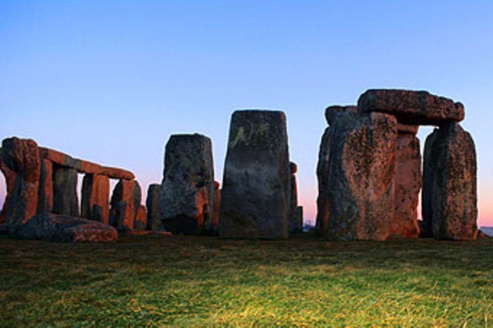 Stonehenge aus der Steinzeit