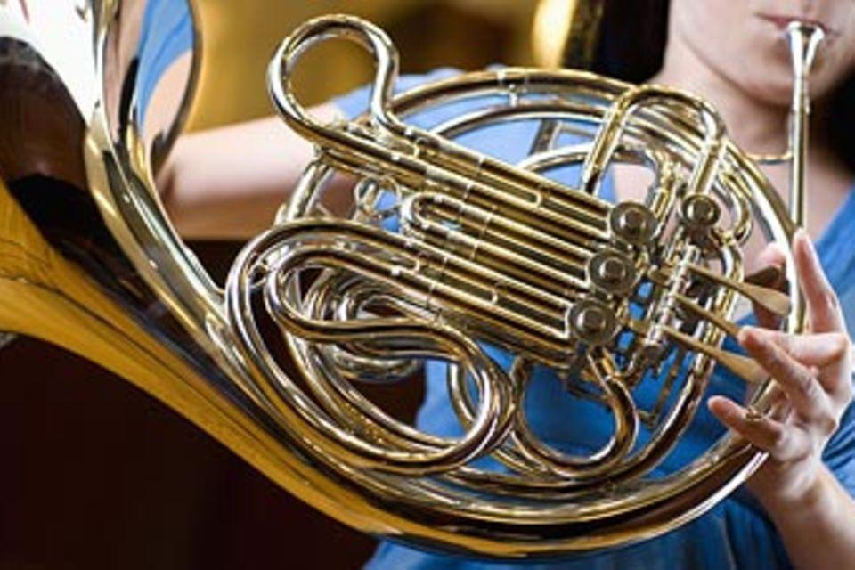 Musikinstrumente Horn