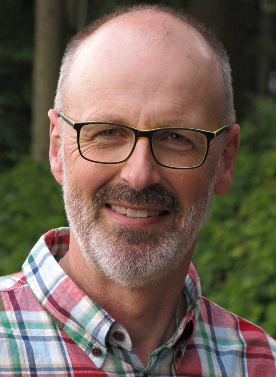 Autor und Förster Peter Wohlleben