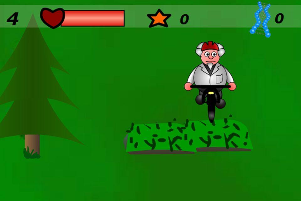 Onlinespiel: Professor Downhill