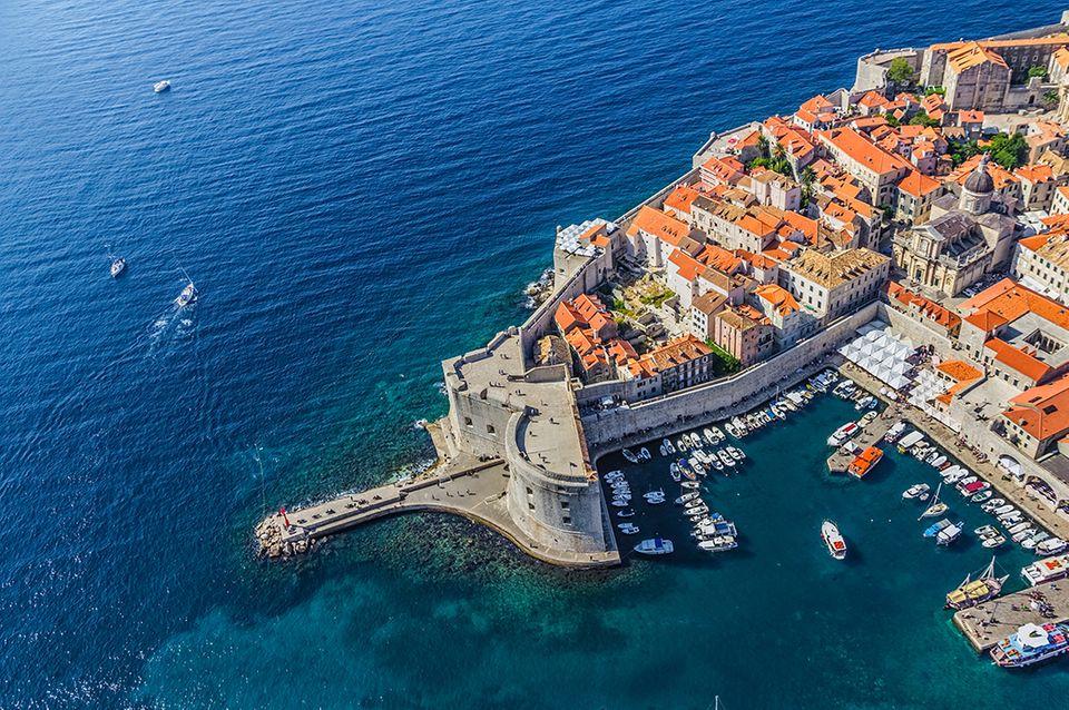 Stadthafen von Dubrovnik