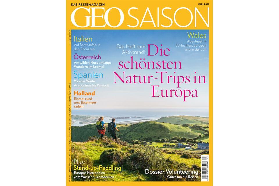 GEO SAISON Nr. 07/2016: GEO SAISON Nr. 07/2016 Die schönsten Natur-Trips in Europa