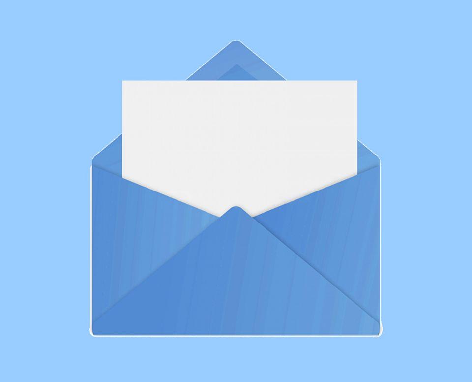 Redewendung: Von vielen gefürchtet: der blaue Brief