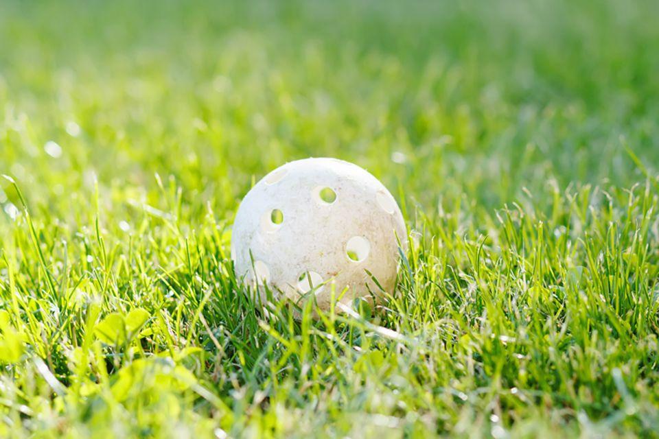 Redewendung: Hält man den Ball flach, geht man behutsam vor