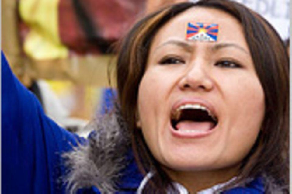 """Tibeter im Exil: """"Ich bete und bin so traurig ..."""""""
