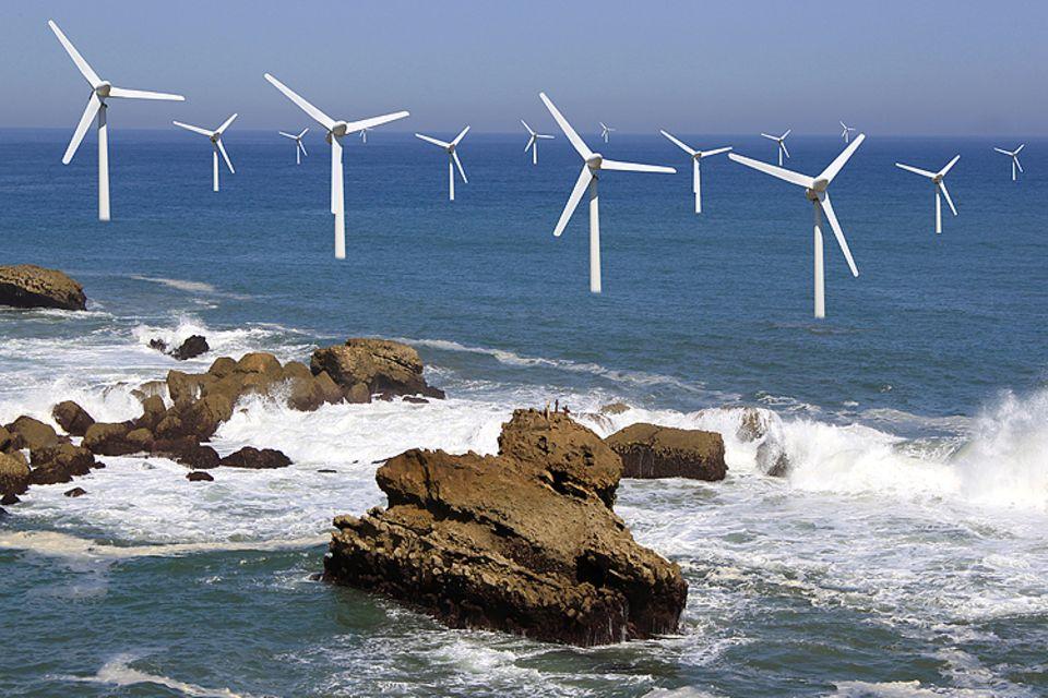 Globale Erwärmung: Wind ist eine der umweltfreundlichen Energien der Zukunft