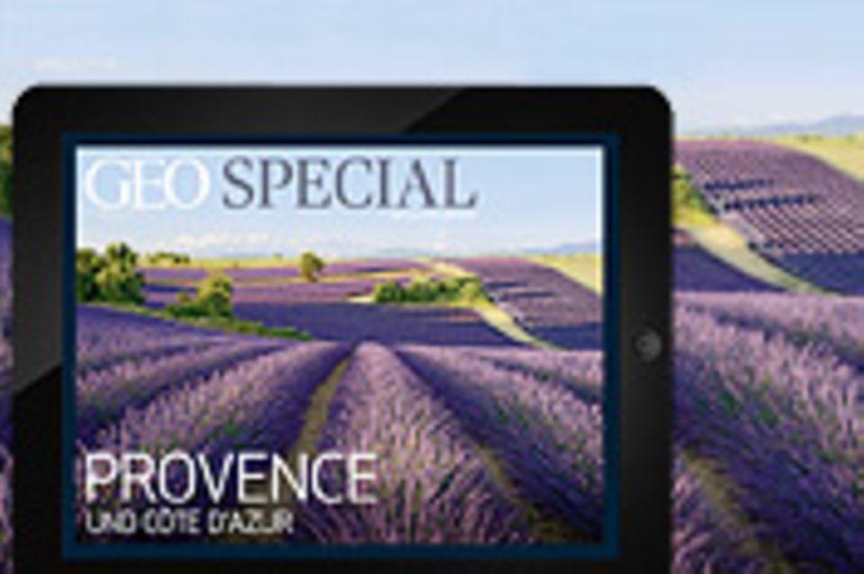 GEO als App: App in die Provence!
