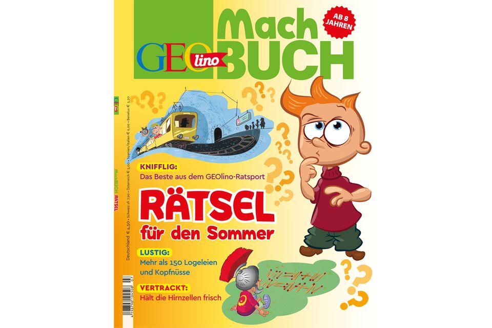 Machbuch: GEOlino Machbuch - Rätsel für den Sommer