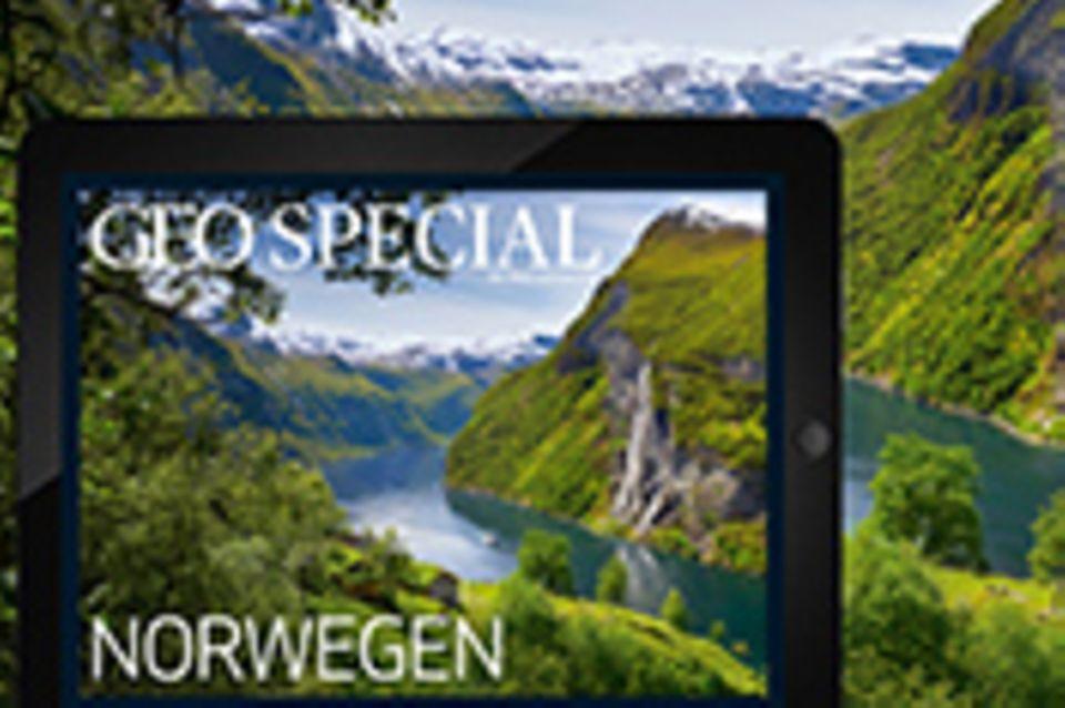 ipad-App: GEO Special-App: Norwegen