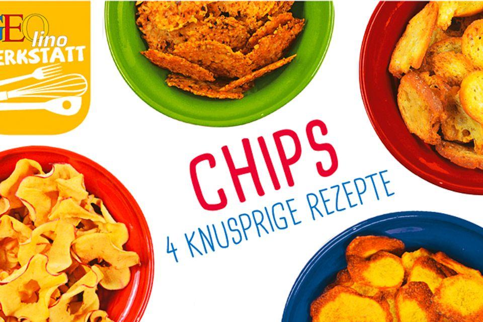 Rezept: Vier leckere Chipssorten zum Nachmachen