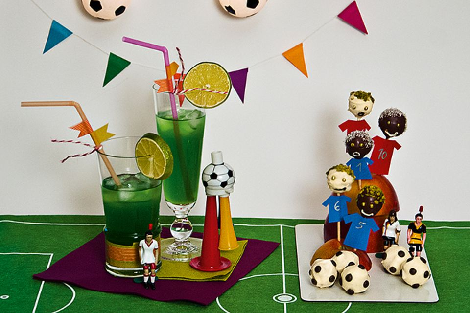 Rezeptesammlung: Fußball-Snacks
