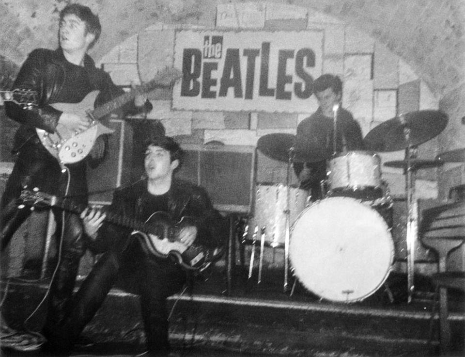 """Städte in Nordengland: Im """"Cavern Club"""" spielten die Beatles insgesamt 292 Konzerte"""