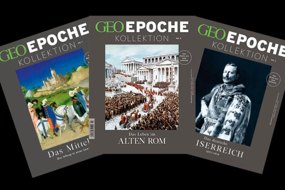 GEOEPOCHE KOLLEKTION Archiv und Shop: GEOEPOCHE KOLLEKTION Archiv