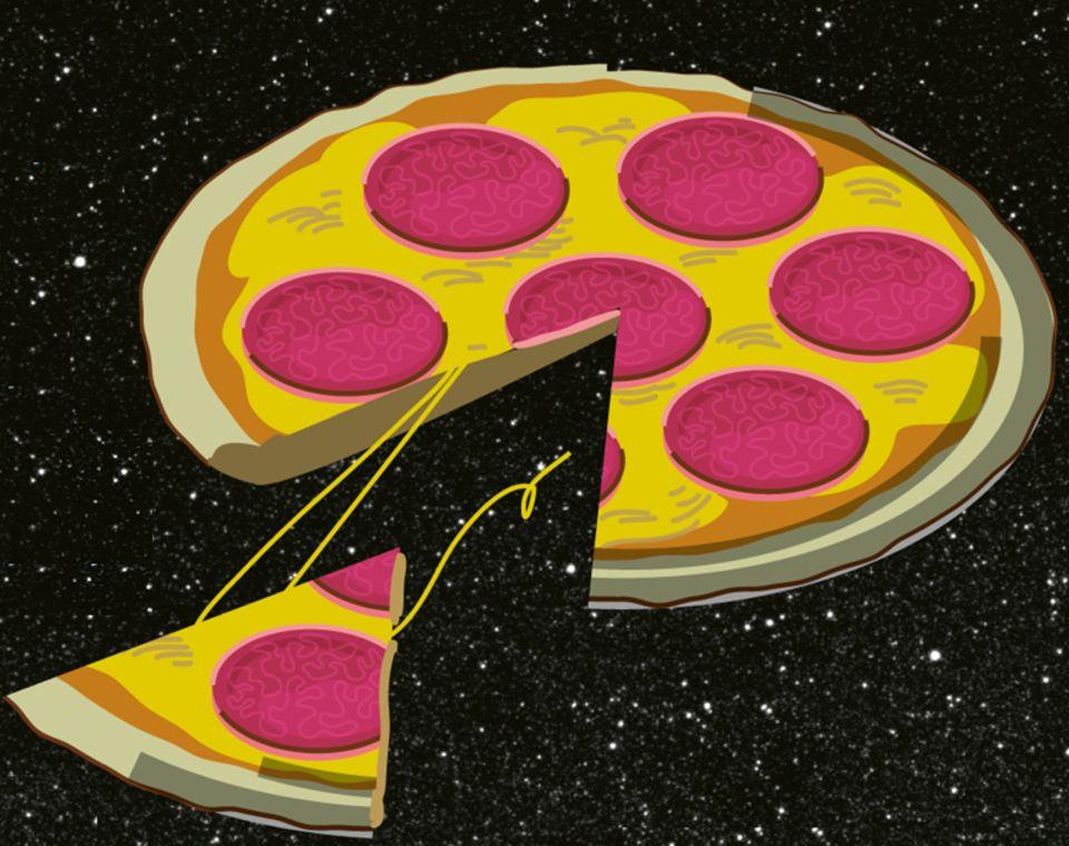 """Weltall: """"Progress M1-6"""" lieferte 2001 Pizza auf die ISS"""