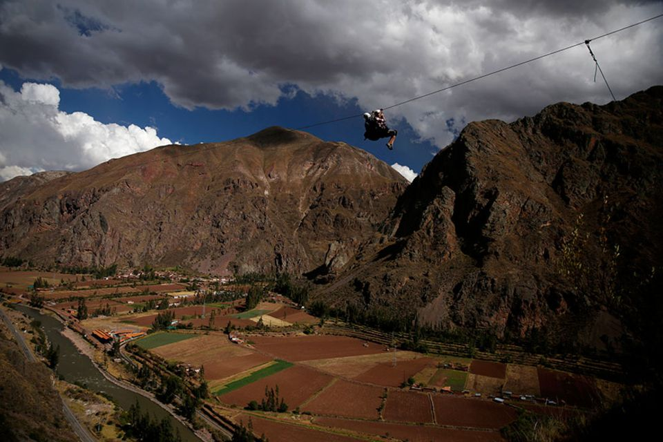 Abenteuerliche Reisetipps: Zipline-Spaß im heiligen Tal El Valle Sagrado