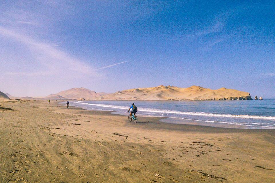 Abenteuerliche Reisetipps: Auch für Mountainbike-Einsteiger gut geeignet - die Tour durch das Naturreservat Paracas