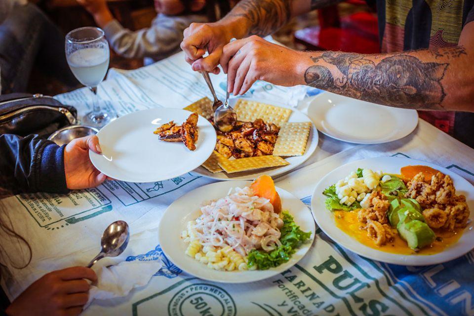 Salt & Silver: Finger-Food im Canta Rana: Hier soll es der Legende nach das beste Ceviche in ganz Lima geben