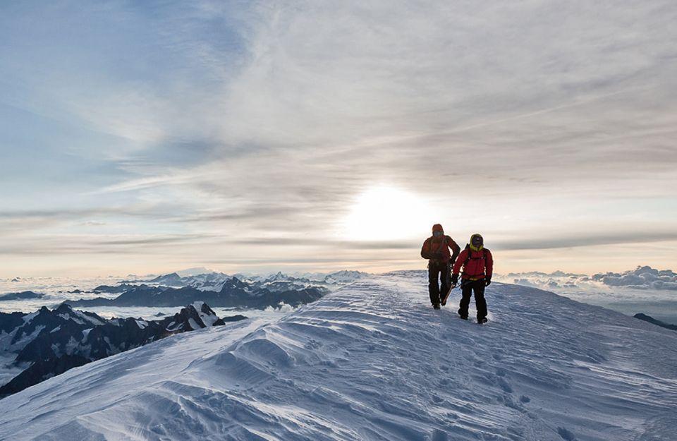 Entdecker-Route: Weitblick: Zum Sonnenaufgang auf dem Gipfel